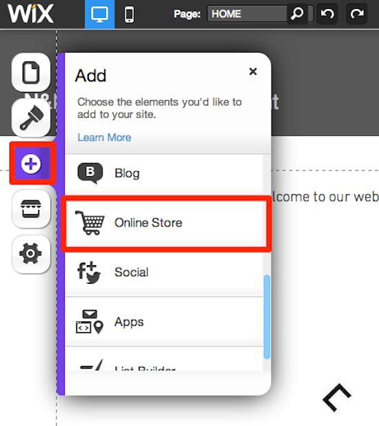 Как да добавим продукти в онлайн магазин Wix